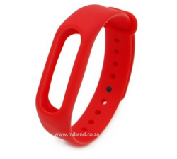 Xiaomi Miband 2 -Replacement Silicone Strap - Red